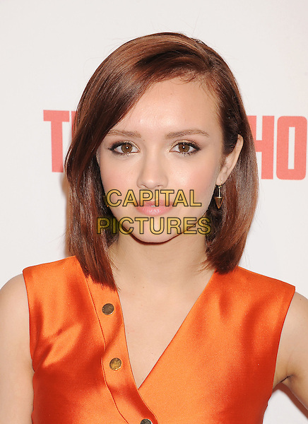 LOS ANGELES, CA- FEBRUARY 26: Actress Olivia Cooke arrives at the premiere party for A&amp;E's Season 2 of 'Bates Motel' and the series premiere of 'Those Who Kill' at Warwick on February 26, 2014 in Los Angeles, California.<br /> CAP/ROT/TM<br /> &copy;Tony Michaels/Roth Stock/Capital Pictures