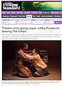 Love Girl & Innocent, Southwark Playhouse, London Evening Standard, 15.10.13