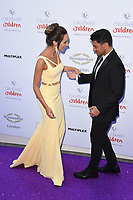 Emily and Peter Andre<br /> at the Caudwell Butterfly Ball 2017, Grosvenor House Hotel, London. <br /> <br /> <br /> &copy;Ash Knotek  D3268  25/05/2017