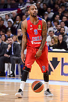 CSKA Moscow Aaron Jackson during Turkish Airlines Euroleague match between Real Madrid and CSKA Moscow at Wizink Center in Madrid, Spain. January 06, 2017. (ALTERPHOTOS/BorjaB.Hojas)