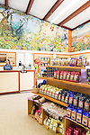 The Ka'u Coffee Mill store, in the district of Ka'u on the Big Island of Hawaii, USA, America