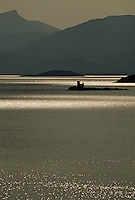 Croatie/Dalmatie: Petite île sur l'Adriatique à Neum aux environs de Ston