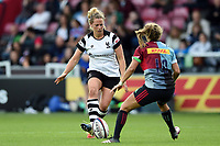 Amber Reed of Bristol Bears Women in action. Tyrrell's Premier 15s match, between Harlequins Ladies and Bristol Bears Women on September 15, 2018 at the Twickenham Stoop in London, England. Photo by: Patrick Khachfe / Onside Images