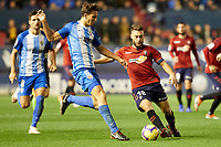Roberto Torres (midfield; CA Osasuna) during the Spanish football of La Liga 123, match between CA Osasuna and Málaga CF at the Sadar stadium, in Pamplona (Navarra), Spain, on Saturday, November 3, 2018.