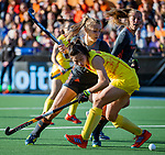 UTRECHT - Kyra Fortuin (Ned)    tijdens   de Pro League hockeywedstrijd wedstrijd , Nederland-China (6-0) .  COPYRIGHT  KOEN SUYK