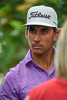 Rafael Cabrera Bello (ESP) is interviewed following his round 3 of The Players Championship, TPC Sawgrass, at Ponte Vedra, Florida, USA. 5/12/2018.<br /> Picture: Golffile | Ken Murray<br /> <br /> <br /> All photo usage must carry mandatory copyright credit (&copy; Golffile | Ken Murray)