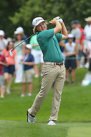 Bethesda, MD - July 2, 2017: Zac Blair in action during final round of professional play at the Quicken Loans National Tournament at TPC Potomac  in Bethesda, MD, July 2, 2017.  (Photo by Elliott Brown/Media Images International)