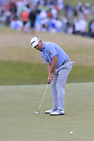 Graeme McDowell (NIR) putts on the 9th green during Thursday's Round 1 of the 118th U.S. Open Championship 2018, held at Shinnecock Hills Club, Southampton, New Jersey, USA. 14th June 2018.<br /> Picture: Eoin Clarke | Golffile<br /> <br /> <br /> All photos usage must carry mandatory copyright credit (&copy; Golffile | Eoin Clarke)