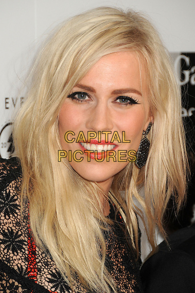 "Natasha Bedingfield.LA Gay & Lesbian Center's ""An Evening With Women"" 2013 held at the Beverly Hilton Hotel, Beverly Hills, California, USA, 18th May 2013..portrait headshot makeup eyeliner  black lace red skirt bra see thru through smiling .CAP/ADM/BP.©Byron Purvis/AdMedia/Capital Pictures"