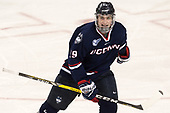 Tage Thompson (UConn - 29) - The Boston College Eagles defeated the visiting UConn Huskies 2-1 on Tuesday, January 24, 2017, at Kelley Rink in Conte Forum in Chestnut Hill, Massachusetts.