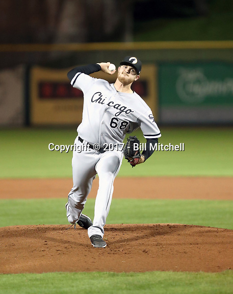 Dylan Covey - Glendale Desert Dogs - 2017 Arizona Fall League (Bill Mitchell)