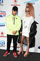 Jax Jones and Raye<br /> at the Capital Summertime Ball 2017, Wembley Stadium, London. <br /> <br /> <br /> &copy;Ash Knotek  D3278  10/06/2017