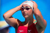 Picture by Alex Whitehead/SWpix.com - 08/04/2018 - Commonwealth Games - Swimming - Optus Aquatics Centre, Gold Coast, Australia - Chloe Tutton of Wales competes in the Women's 100m Breaststroke heats.
