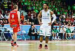 ****BETALBILD**** <br /> Uppsala 2015-04-24 Basket SM-Final 3 Uppsala Basket - S&ouml;dert&auml;lje Kings :  <br /> S&ouml;dert&auml;lje Kings John Roberson deppar under matchen mellan Uppsala Basket och S&ouml;dert&auml;lje Kings <br /> (Foto: Kenta J&ouml;nsson) Nyckelord:  Basket Basketligan SM SM-final Final Fyrishov Uppsala S&ouml;dert&auml;lje Kings SBBK depp besviken besvikelse sorg ledsen deppig nedst&auml;md uppgiven sad disappointment disappointed dejected