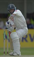 31/05/2002.Sport -Cricket - 2nd NPower Test -Second Day.England vs Sri Lanka..Nasser Hussain [Mandatory Credit Peter Spurrier:Intersport Images]