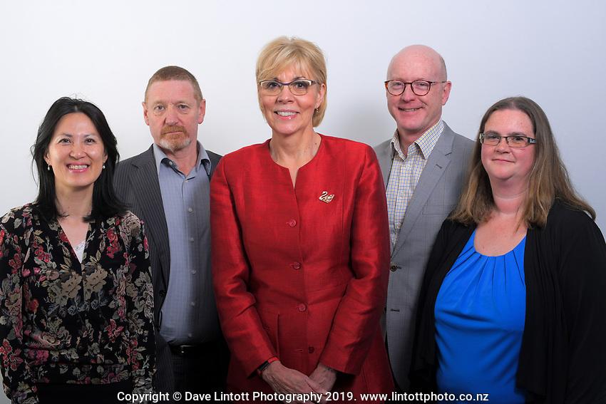 EduPay senior leadership team photos in Wellington, New Zealand on Saturday, 17 September 2019. Photo: Dave Lintott / lintottphoto.co.nz