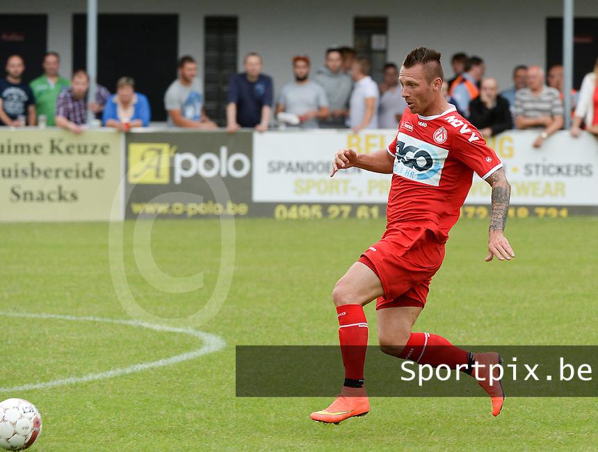 KV Kortrijk : Teddy Chevalier <br /> foto VDB / BART VANDENBROUCKE