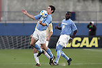 12 December 2008: Zach Loyd (3) of North Carolina.  The Wake Forest University Demon Deacons were defeated by the University of North Carolina Tar Heels 0-1 at Pizza Hut Park in Frisco, TX in an NCAA Division I Men's College Cup semifinal game.