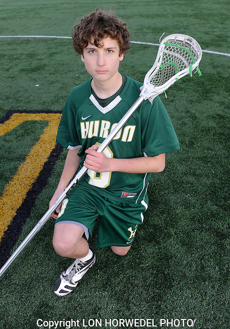 Huron High School boy's junior varsity lacrosse team.
