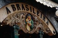 Portugal, Café a Brasileira in Lissabon