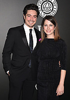 SANTA MONICA, CA - JANUARY 06: Actor Ben Feldman (L) and Michelle Feldman arrive at the The Art Of Elysium's 11th Annual Celebration - Heaven at Barker Hangar on January 6, 2018 in Santa Monica, California.<br /> CAP/ROT/TM<br /> &copy;TM/ROT/Capital Pictures