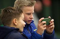 Januari 24, 2015, Rotterdam, ABNAMRO, Supermatch, kids<br /> Photo: Tennisimages/Henk Koster