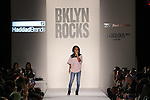 Bobbi MacKenzie sings at the BKLYN ROCKS fashion show at 445 Albee Square in Downtown Brooklyn, on November 09, 2016.