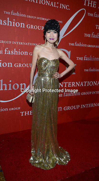 Chiu Ti Jansen attends the Fashion Group International's Night of Stars Gala on October 22, 2013 at Cipriani Wall Street in New York City.