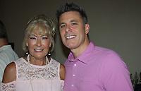 NWA Democrat-Gazette/CARIN SCHOPPMEYER Vicki Petree and her son Lance Petree help support Healing Gardens of Northwest Arkansas.