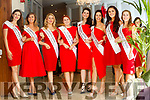 Ottawa Rose, Vanessa Foran, Limerick Rose, Kayleigh Maher, London Rose, Caoimhe Gallagher, Clare Rose, Aoife Murray, Kerry Rose, Breda O'Mahony, Sydney Rose, Aisling Walsh, Florida Rose, Elizabeth Marince and Washington Dc Rose, Sarah Robertson at the Rose Hotel, Tralee on Tuesday.