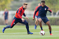 Chula Vista, CA - January 11, 2019: The USMNT trains during their annual January camp in California.