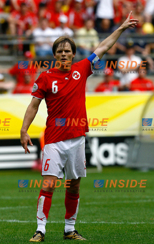 Dortmund 19/6/2006 World Cup 2006.Togo Svizzera - Togo Switzerland 0-2.Photo Andrea Staccioli Insidefoto.Johann Vogel Svizzera