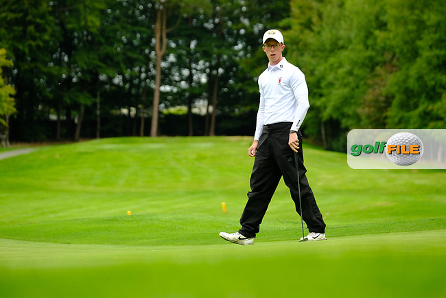 Marc Norton (Ulster) during final day foursomes at the Interprovincial Championship 2018, Athenry golf club, Galway, Ireland. 31/08/2018.<br /> Picture Fran Caffrey / Golffile.ie<br /> <br /> All photo usage must carry mandatory copyright credit (© Golffile   Fran Caffrey)