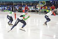 SCHAATSEN: HEERENVEEN: 09-12-2016, IJsstadion Thialf, ISU World Cup, Team Italia, ©foto Martin de Jong