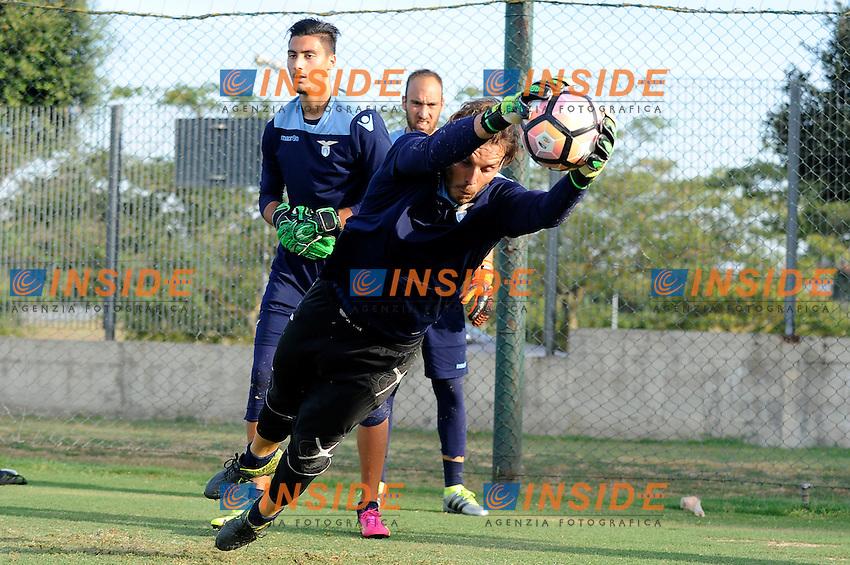 Federico Marchetti<br /> 02-08-2016 Roma<br /> Allenamento Lazio a Formello<br /> SS Lazio traning day<br /> @ Marco Rosi / Fotonotizia