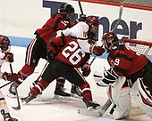 Hayley Scamurra (NU - 14), Caitrin Lonergan (BC - 11), Heather Mottau (NU - 26), Brittany Bugalski (NU - 39) - The Boston College Eagles defeated the Northeastern University Huskies 2-1 to win the Beanpot on Monday, February 7, 2017, at Matthews Arena in Boston, Massachusetts.