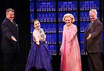 Douglas Sills, Patti Lupone, Christine Ebersole, John Dossett during the Broadway opening night performance curtain call for 'War Paint' at the Nederlander Theatre on April 6, 2017 in New York City