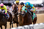 JUNE 08: Majid with Luis Saez up wins The Easy Goer Stakes at Belmont Park in Elmont, New York on June 08, 2019. Evers/Eclipse Sportswire/CSM