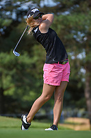 Austin Ernst (USA) watches her tee shot on 3 during round 1 of the 2018 KPMG Women's PGA Championship, Kemper Lakes Golf Club, at Kildeer, Illinois, USA. 6/28/2018.<br /> Picture: Golffile | Ken Murray<br /> <br /> All photo usage must carry mandatory copyright credit (&copy; Golffile | Ken Murray)