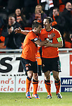 Jon Daly celebrates after scoring the equaliser right at the end