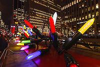 america,New York,  Manhattan, Christmas lights