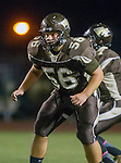 Torrance, CA 10/02/15 - Philip Cornelius (West #56) in action during the Carson-West Torrance CIF varsity football game at West Torrance High School.  Carson defeated West Torrance 34-27.