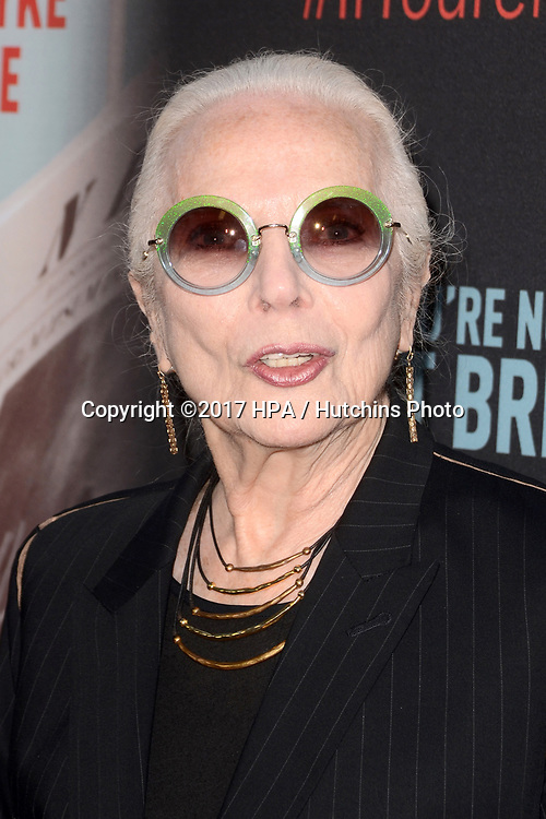 """LOS ANGELES - MAY 17:  Barbara Bain at the """"If You're Not In The Obit, Eat Breakfast"""" Premiere at the Samuel Goldwyn Theater on May 17, 2017 in Beverly Hills, CA"""
