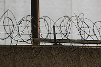 barbed fence, sharp,razor,