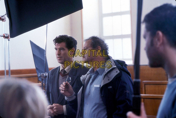 PIERCE BROSNAN & BRUCE BERESFORD (DIRECTOR).on the set of Evelyn.Ref: FBAW.*Editorial Use Only*.www.capitalpictures.com.sales@capitalpictures.com.Supplied by Capital Pictures.