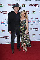 """LOS ANGELES - AUG 13:  Trace Adkins, Victoria Prat at the """"Bennett's War"""" Los Angeles Premiere at the Warner Brothers Studios on August 13, 2019 in Burbank, CA"""