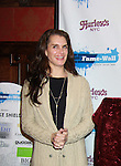 """The Doctors' Brooke Shields """"Elizabeth Harrington"""" was honored at Fame-Wall New York with the unveiling of her portrait by famed painter Jim Warren and a celebration of Broadway's The Addams Family at a Halloween Party on October 28, 2011 at Hurley's NY, New York City, New York.  (Photo by Sue Coflin/Max Photos)"""