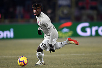 Kean Moise of Juventus in action during the Italy Cup 2018/2019 football match between Bologna and Juventus at stadio Renato Dall'Ara, Bologna, January 12, 2019 <br />  Foto Andrea Staccioli / Insidefoto