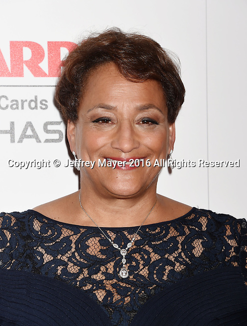 BEVERLY HILLS, CA - FEBRUARY 08: AARP CEO Jo Ann Jenkins attends AARP's Movie For GrownUps Awards at the Regent Beverly Wilshire Four Seasons Hotel on February 8, 2016 in Beverly Hills, California.