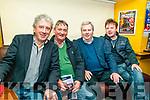 Cheltenham Preview:   Pictured at the Cheltenham Preview night  at Christy's Bar, Listowel on Sunday night last were Billy Keane, Declan Sheehy, Eric McNamara, trainer, & Berkie Browne, Bookie.
